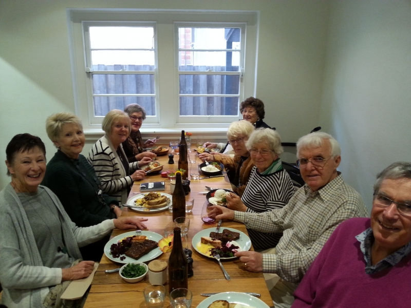 3rd Sunday lunch oct 2018